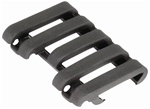 ERGO LowPro Wire Loom 5 Slot Rail Covers