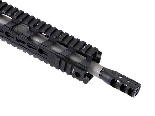 Fortis Rapid Engagement Device Red Muzzle Brake 5 56 Black