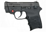 Smith and Wesson Bodyguard 380 ACP with Crimson Trace Laser  Black Melonite Finish