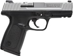 "Smith and Wesson SD9VE 9mm 16+1 4"" SS/Black"