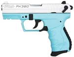 "Walther PK380 380ACP 3.6"" Angel Blue"
