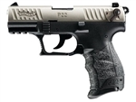 "Walther P22 QD 22LR 3.4"" - Nickel"