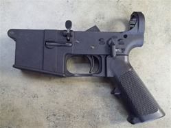 New Frontier Armory STRIPPED GENII AR15 Polymer Lower Receiver with Lower Parts Kits Installed