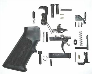 Single stage lower parts kit