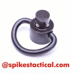Spike's Tactical Push Button Quick Detach Small D-Loop Sling Swivel