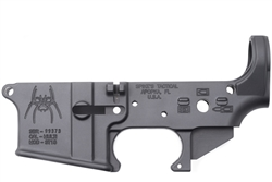 Spike's Tactical Lower (Multi) Forged Spider Stripped w/ Bullet Markings-STLS012