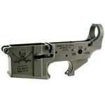 Spike's Tactical Lower BLEM (Multi) Forged CALICO JACK Pirate Stripped AR Lower-STLS016