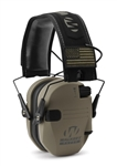 Walker Razor Patriot Series - Razor Slim Electronic Muff - FDE PATRIOT (AMERICAN FLAG)