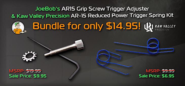 JoeBob's AR15 Grip Screw Trigger Adjuster