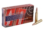 Hornady 223REM SUPERFORMANCE BTHP Match Ammo 75gr - 20rd box