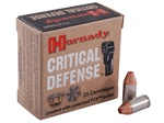 Hornady Critical Defense 380ACP Flex Tip Hollow Point Ammo 90gr - 25rd Box