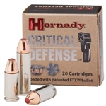 Hornady 38SPL +P Critical Defense 110gr - 25rd box