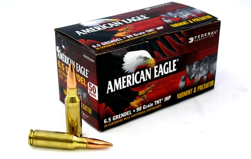 Eagle 6.5 Grendel TNT Hollow Point 90gr - 50rd box