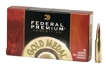 Federal 308 BTHP Gold Match 168gr - 20rd box