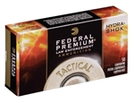 Federal 9MM HP Hydra Shok 147gr - 50rd box