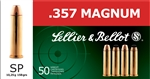 Sellier & Bellot 357 MAG SP 158gr - 50rd box