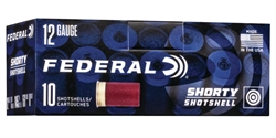 "Federal 12GA Shorty Mini Shotshells #8 Shot - 1 3/4"" - 10 Rounds"