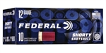 "Federal 12GA Shorty Mini Shotshells Rifled Slug - 1 3/4"" - 10 Rounds"