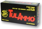Tula 9mm 115gr FMJ Steel Case - 50rd Box