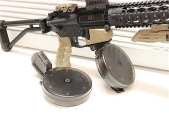 Blackdog AR-15  22 50 Round Drum Magazine