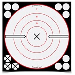 "Birchwood Casey Shoot-N-C 8"" White/Black ""X"" Bull's-eye Target"
