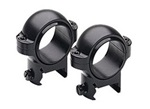 "Burris Zee Signature 1"" Rifle Scope Medium Ring Pair Matte Black"