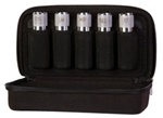 00400 Black Nylon 5 Tube Case