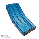 C-Products DuraMag Speed 223/5.56 AR-15 30rd Aluminum Magazine - Blue