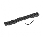 EGW Savage FB (Flat Back) Picatinny Tactical Rail Scope Mount - SHORT ACTION