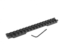 EGW Savage RB (Round Back) Picatinny Tactical Rail Scope Mount- SHORT ACTION