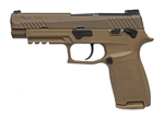 "Sig Sauer P320-M17  9MM 4.7"" 17+1 - Coyote PVD"