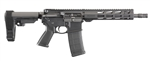 "Ruger AR-556 Pistol 5.56MM 10.5"" 30rd Magazine with SBA3 Brace"