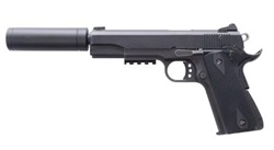 American Tactical Imports GSG 1911-22LR Black with Faux Suppressor