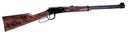 Henry Repeating Arms 22WMR Lever Action Blue Finish Walnut Stock