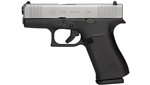"Glock 43X 9mm 3.41"" 10rd - Silver Slide"