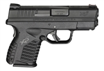 "SPRINGFIELD XDS 45 ACP 3.3"" 6+1 ESSENTIALS PACKAGE- Black"