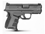 "SPRINGFIELD  XD-S MOD 2 3.3"" 9mm with Tritium Front Sight - Gear Up Package w/ 5 Magazines and Range Bag"