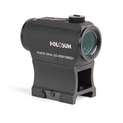Holosun Paralow HS403B Red Dot Sight with Push Buttons and 50K Battery Life