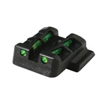 Hi-Viz Glock LITEWAVE Rear Sight Glock 9mm, .40, and 357 Sig