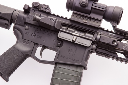 Spartan Stripped Billet AR15 Upper Receiver