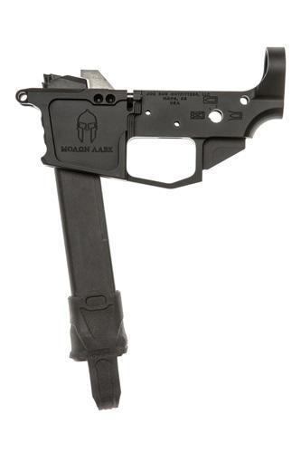 spartan 9mm glock magazine compatible billet lower receiver