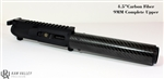 "Kaw Valley Precision AR-15 4.5"" 9MM Complete Upper w/Carbon Fiber Handguard"