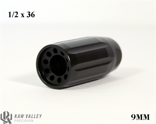 Kaw Valley Precision Linear Comp 9MM 1/2x36 Black