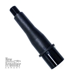 "New Frontier Armory AR-15 4"" Match Grade 10MM 4150 Black Nitride Barrel"