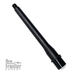 "New Frontier Armory AR-15 8"" Match Grade 10MM 4150 Black Nitride Barrel"