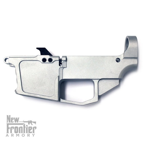 new frontier armory 80 9mm glock magazine compatible billet lower