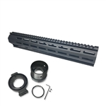 "Pantheon Arms Prometheus AR-15 Takedown Kit with 14.5"" MX XL-Length M-LOK Rail"