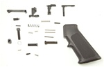 Rock River AR-15 Lower Receiver Parts Kit, WITHOUT Trigger Group, with A2 Grip Black