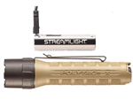 STREAMLIGHT PolyTac X USB Coyote 600 Lumen Flashlight with USB Rechargeable Battery