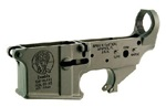 Spike's Tactical AR-15 Lower (Multi) Forged ZOMBIE Stripped AR Lower-Live/Dead Markings